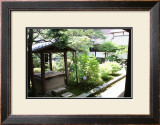 A Well in Back of the Temple, Japanese Garden Prints by Ryuji Adachi