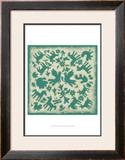 Folk Story in Jade Prints by Chariklia Zarris
