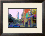 US Gift, Venice Beach, California Framed Giclee Print by Steve Ash