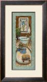 Baine de Blue II Prints by Charlene Olson