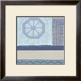 Decorative Asian Abstract I Prints by Wendy Russell