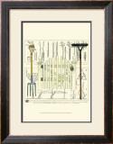 Garden Gate I Print by Ginny Joyner
