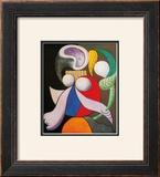 Femme a La Fleur, c.1932 Poster by Pablo Picasso