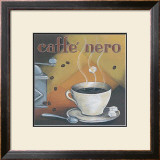 Caffe Nero Poster by L. Morales