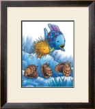The Rainbow Fish IV Print by Marcus Pfister