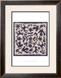Folk Story in Purple Prints by Chariklia Zarris