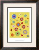 Busy Blooms Posters by Syeda Mleeha Shah