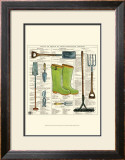 Garden Boots Poster by Ginny Joyner