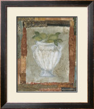 Lime Fresco Prints by Krista Sheldon