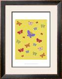 Busy Butterfly Prints by Syeda Mleeha Shah