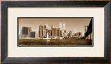 Downtown Panorama Print by Igor Maloratsky