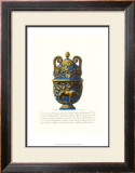 Blue Urn II Poster by Giovanni Battista Piranesi