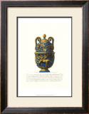 Blue Urn II Poster by Giovanni Battista Piranesi