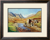 GLENCOE Limited Edition Framed Print by ED HUNTER