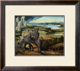 Saint Jerome on the Road Art by Joachim Patinir