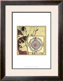 Printed Moonlit Rosette I Poster by Jennifer Goldberger