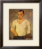 Self Portrait, c.1906 Print by Pablo Picasso