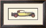 Austro-Daimler, 1931 Art by Antonio Fantini