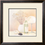 Still Life with White Lamp Print by Heinz Hock