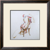 Man on Chair Prints by Jerry Brody
