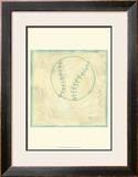 Baseball Rules Posters by Chariklia Zarris