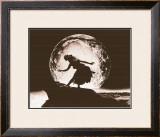 Moon Dancer, Hula Girl Prints by Alan Houghton