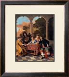 Compagnie Faisant de la Musique Prints by Jacob van Loo