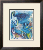 Circus Prints by Marc Chagall