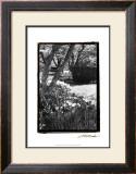 Springtime Garden IV Print by Laura Denardo