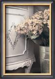 Vintage Flowers III, Hydrangea Detail Print by Sharyn Sakimoto