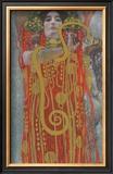Hygieaia (detail) Posters by Gustav Klimt