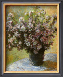Viso di Malva Art by Claude Monet