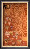 Expectation, Stoclet Frieze, c.1909 Print by Gustav Klimt