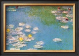 Water Lilies, c.1908 (detail) Posters by Claude Monet
