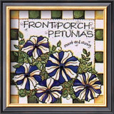 Front Porch Petunias Prints by Joy Marie Heimsoth