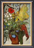 Vase of Poppies Poster by Vincent van Gogh