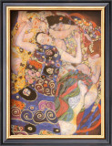 The Virgin Posters by Gustav Klimt