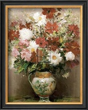 Dahlias dans Un Pot Empire Prints by Marcel Dyf