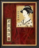 Geisha II Prints by Patricia Quintero-Pinto