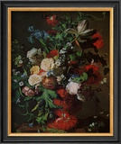 Flowers in an Urn Posters by Jan van Huysum