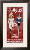Mele & Ci, Abiti per Bambini Framed Giclee Print by Aleardo Villa