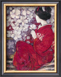 Geisha Reflection Print by  Ivo