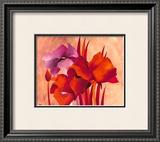 Colourful Flowers II Poster by Gisela Funke