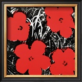Flowers, c.1964 (Red) Posters by Andy Warhol