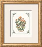 Geraniums Poster by Ann McEachron