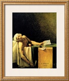 Death of Marat Framed Giclee Print by Jacques-Louis David