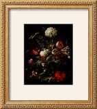 Vase of Flowers Poster by Jan Davidsz. de Heem