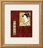 Geisha II Posters by Patricia Quintero-Pinto