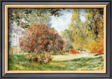 The Park at Monceau Prints by Claude Monet