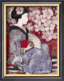 Geisha Study Prints by  Ivo
